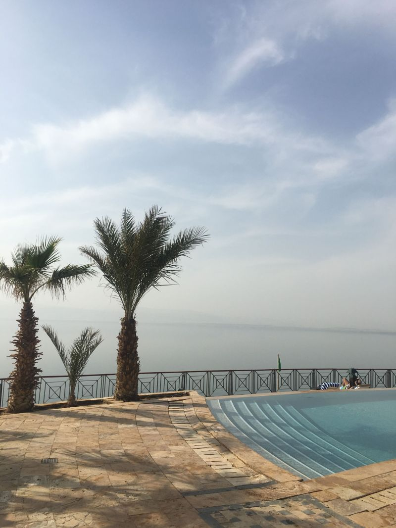 Pool facilities Movenpick Hotel Dead Sea Jordan