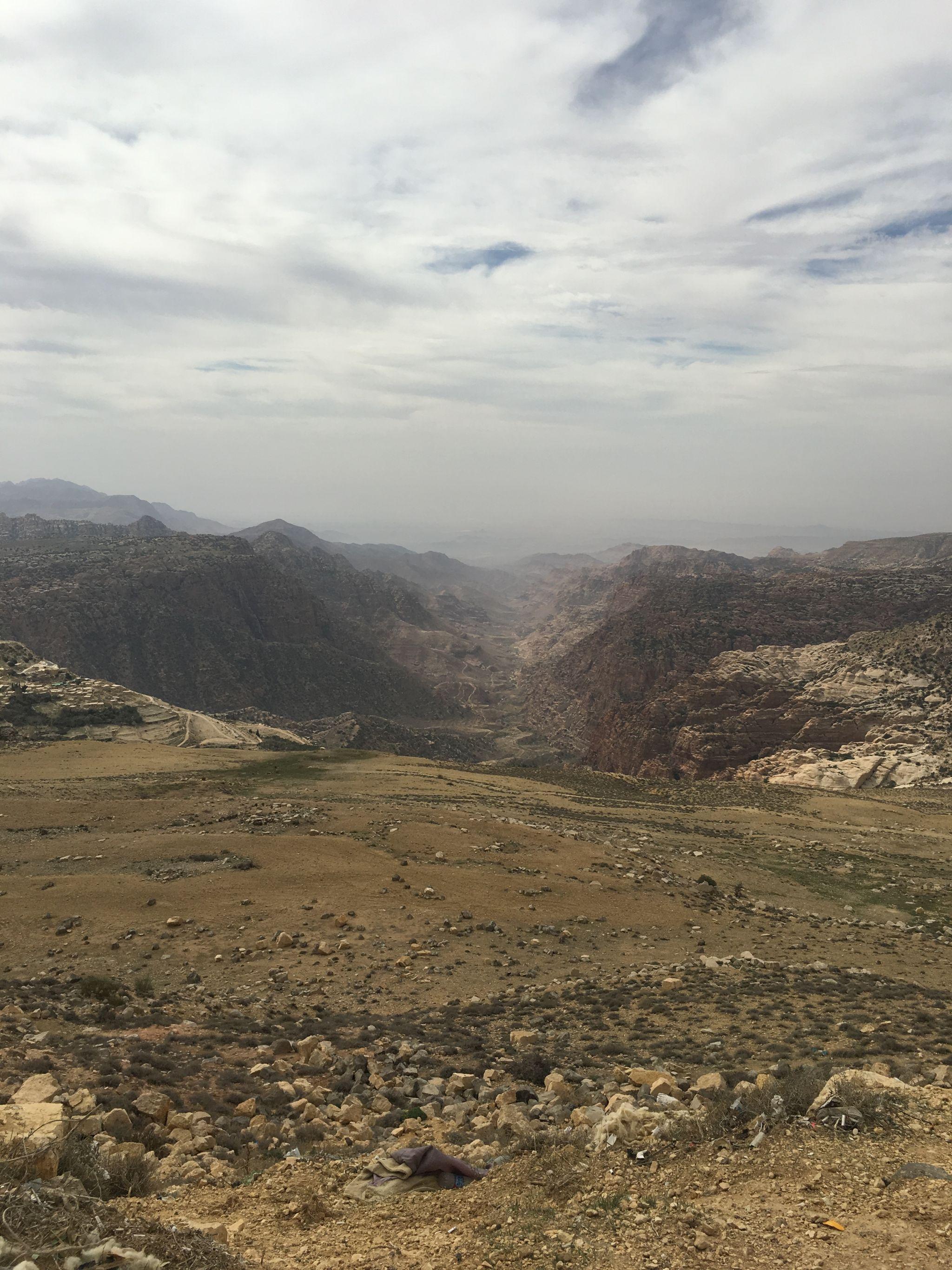 Overlooking the Dana Reserve, Jordan