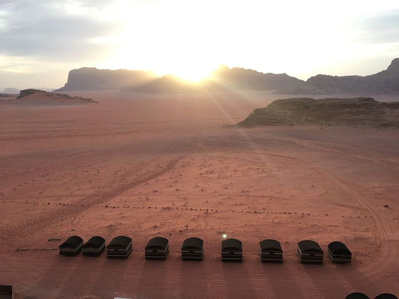 Wadi Rum Desert Views
