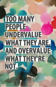 Overcome your low self-esteem - learn to value yourself