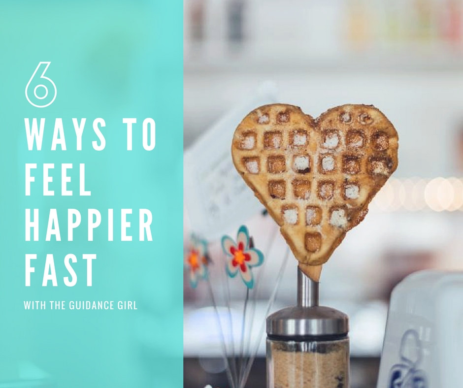 Having a bad day? Here are 6 ways a therapist gets happier fast and tips that can turn a bad day into a great one quickly.