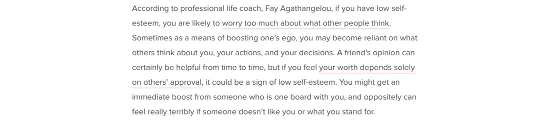 8 Weird Signs Of Low Self-Esteem & How To Change It page 8