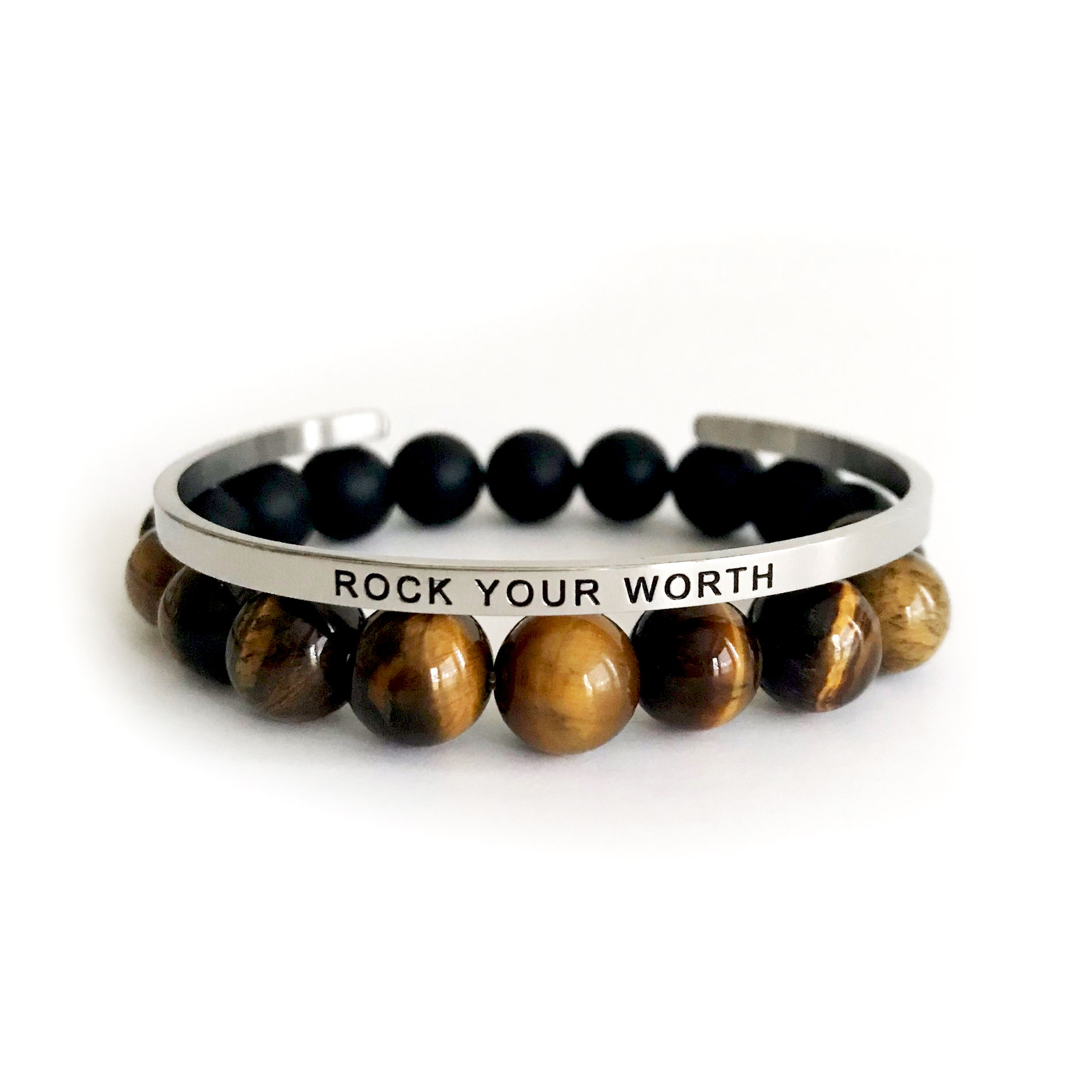 Rock Your Worth 10mm Tiger Eye Onyx