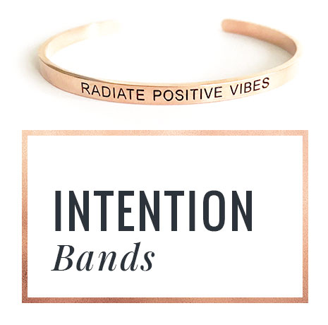 Rock Your Worth Intention Bands