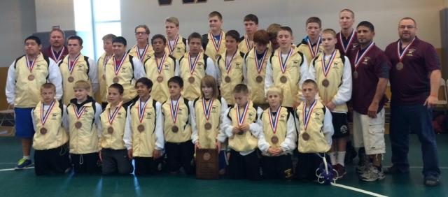 Team Minnesota - 3rd Place.
