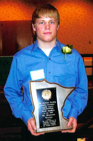 Zach Sanders of Wabasha-Kellogg.