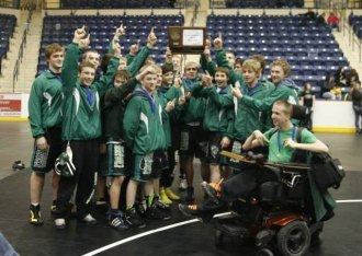 Class A Section 8 Team Champions - Frazee