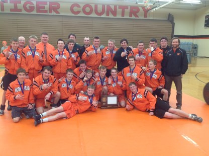 Class AAA Section 8 Team Tournament Champions - Moorhead Spuds.