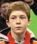 Victor Gliva, 106 lbs. Farmington, 11th
