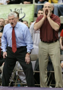 J Robinson and Marty Morgan. Morgan was the top assistant under Robinson for 13 seasons.