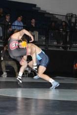 Photo by Johnnie Johnson. 133: Josh Walker (UPIO) over Mike Rhone (SCS) (Dec 6-3)