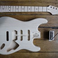 Frankenstrat Project - The body, the neck, the vibrato and the luthier