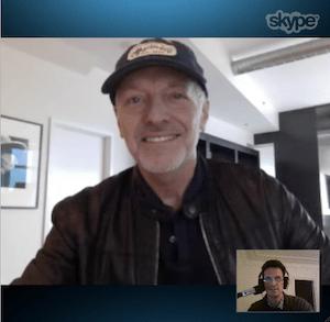 Skype Peter Frampton