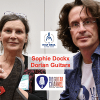 Sophie Dockx interview from Dorian Guitars at the Holy Grail Guitar Show