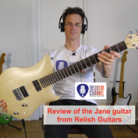 Relish guitar review - The Jane Relish Guitars - Innovative instrument from Switzerland