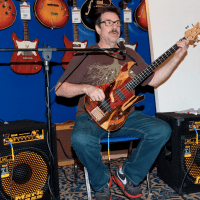 Interview with Jeff Berlin, a master of the bass at the Musikmesse 2015