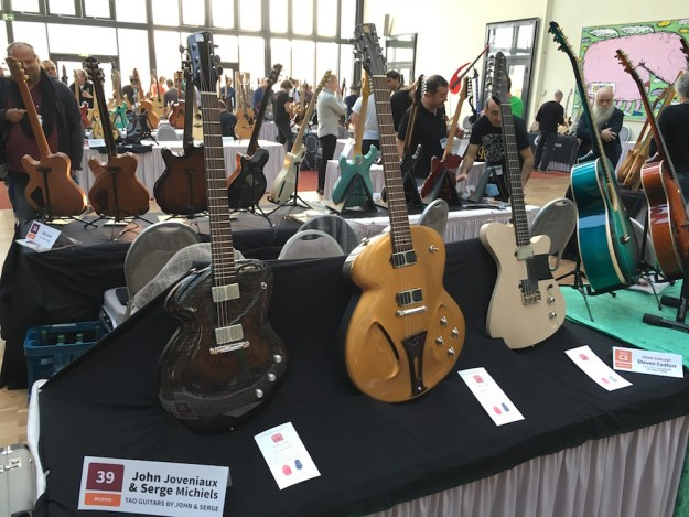 Tao guitars at the 2015 Holy Grail Guitar Show