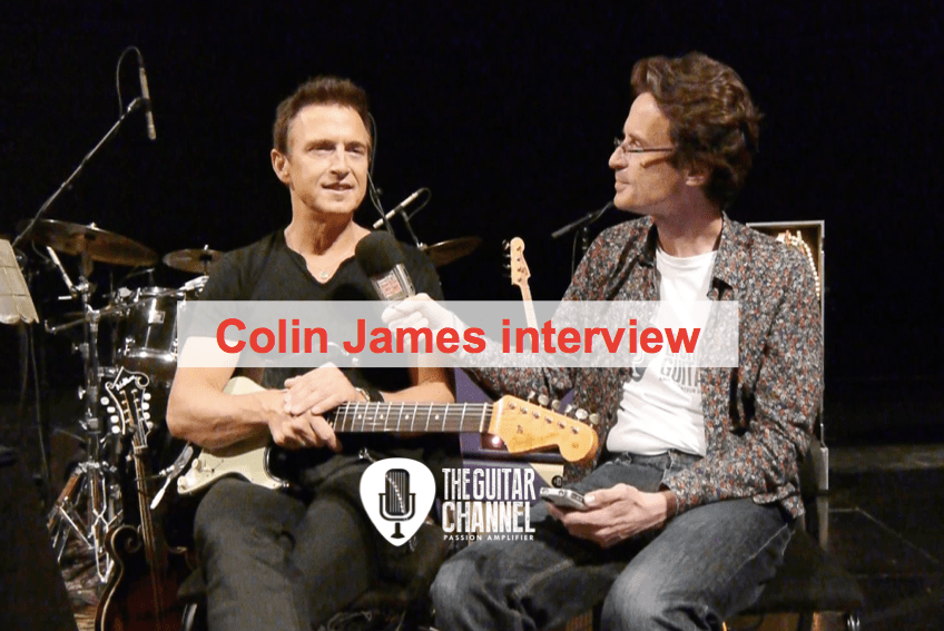 Interview with Colin James during the 2015 @MtlJazzFestival