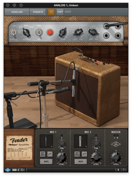 Universal Audio Fender Deluxe amp plugin - The Guitar Channel