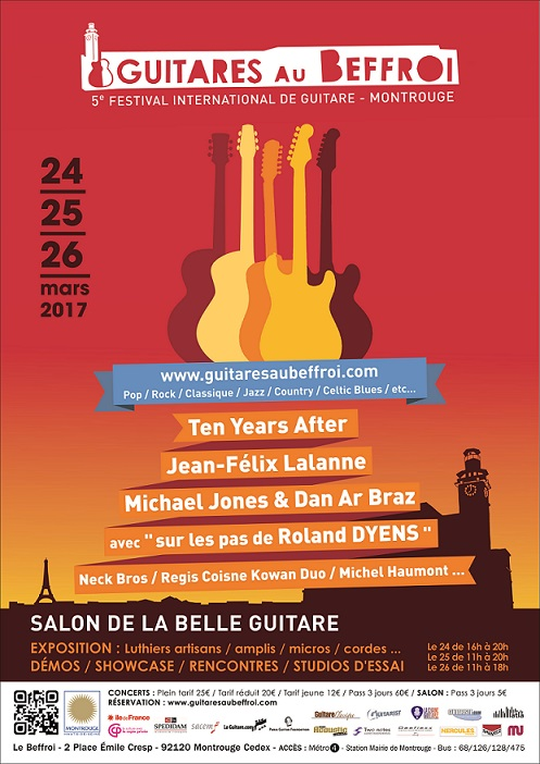 2017 Guitares au Beffroi festival / Salon de la Belle Guitare: organizer interview
