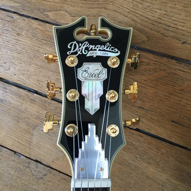 D'Angelico EX-SS: an elegant guitar to play Jazz and more