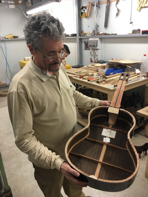 Alhambra Guitars master builders interview - Javier Mengual and José Margarit