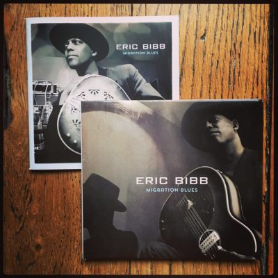 Eric Bibb interview guitar in hand - Migration Blues