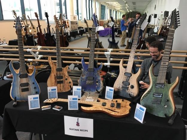 Festival de Guitare de Puteaux 2017 - Guitar Recipe booth