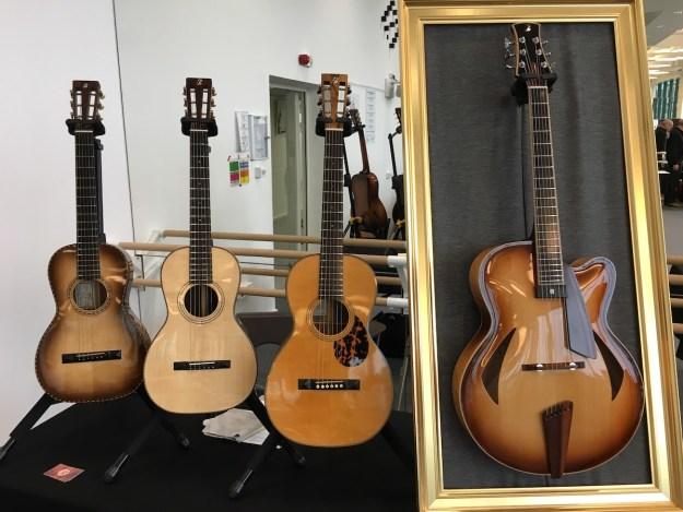 Festival de Guitare de Puteaux 2017 - Pierre Bertrand guitars