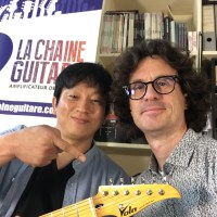 Shawn Cho interview - Vola Guitar CEO at the showroom