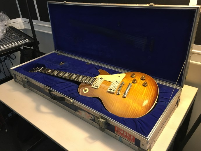 """2018 Vintage Guitar Afternoon - Organized by The Guitar Channel - 1959 Gibson Les Paul Standard """"Spot"""" owned by Bonamassa"""