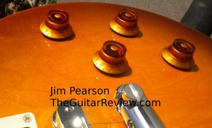 Gibson Les Paul Studio Baritone Controls Detail Jim Pearson