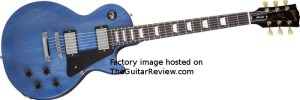 Gibson Les Paul Studio Faded Blue
