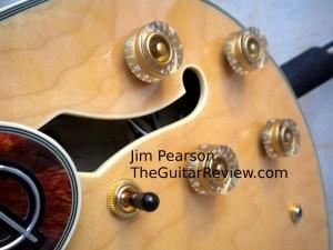 Epiphone Sheraton F Hole New Knob Detail Jim Pearson