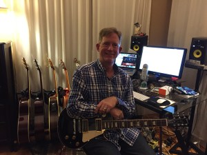 Jim and his Les Paul 7 String...