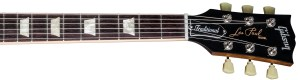 Gibson Les Paul Traditional Neck shot. Image (C) Rights holders of Gibson.com