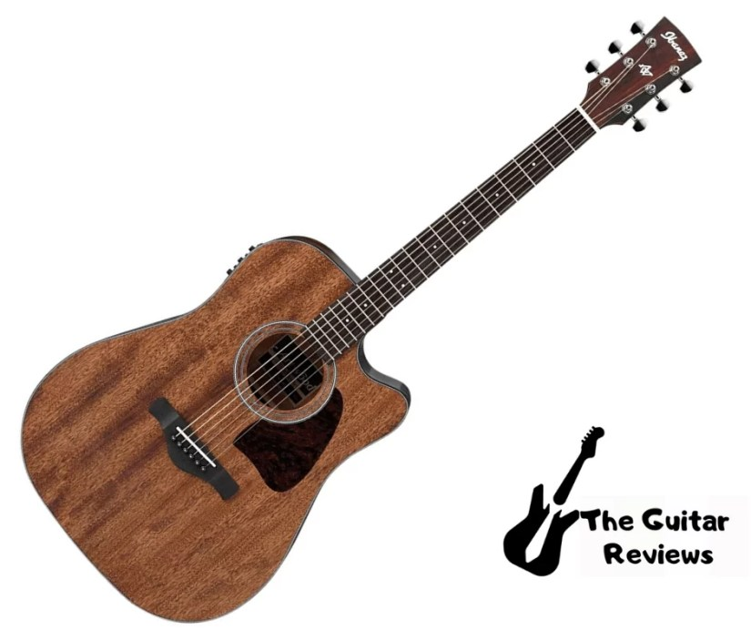 Ibanez AW54CEOPN Artwood Dreadnought Acoustic-Electric Guitar with cheap price
