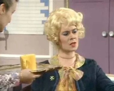 Celia Imrie as Miss Babs