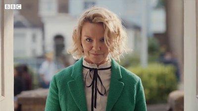 Charlie Brooks as Janine Butcher looking menacing