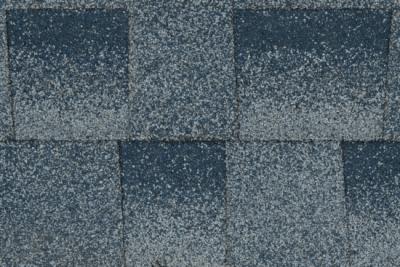 blue shingles