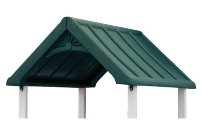 gable roof green