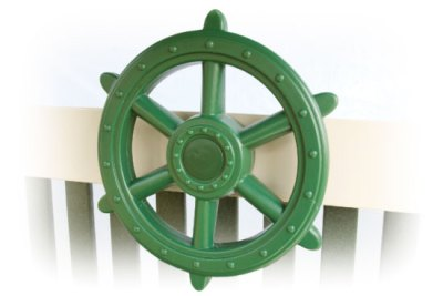 ship wheel green