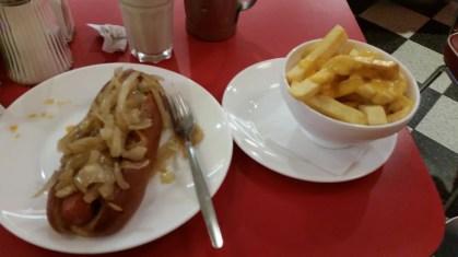 Ed's diner original hot dog