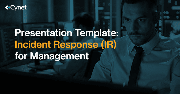 The following template can be completed by election jurisdictions following the instructions in the cybersecurity and infrastructure security agency (cisa) cyber. Report To Your Management With The Definitive Incident Response For Management Presentation Template
