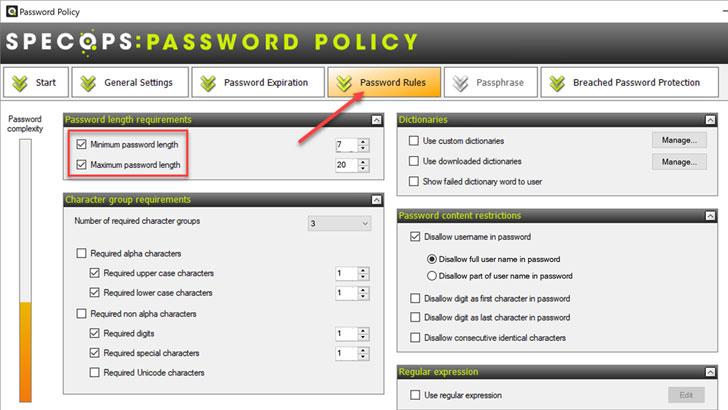 maximum password length