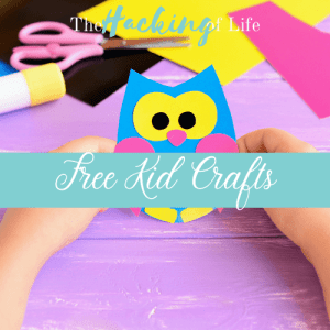 Free Kids Crafts Banner