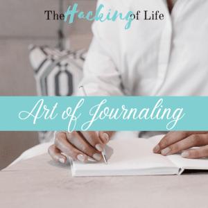 Art of Journaling Banner