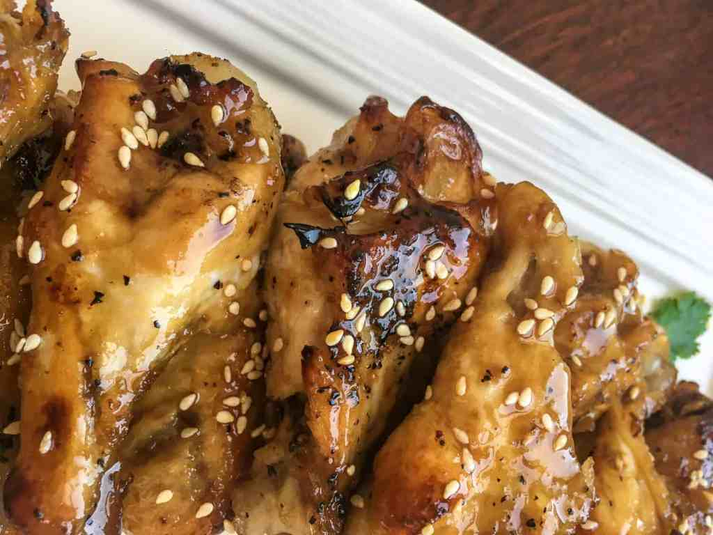 Instant Pot Sesame Garlic Wings