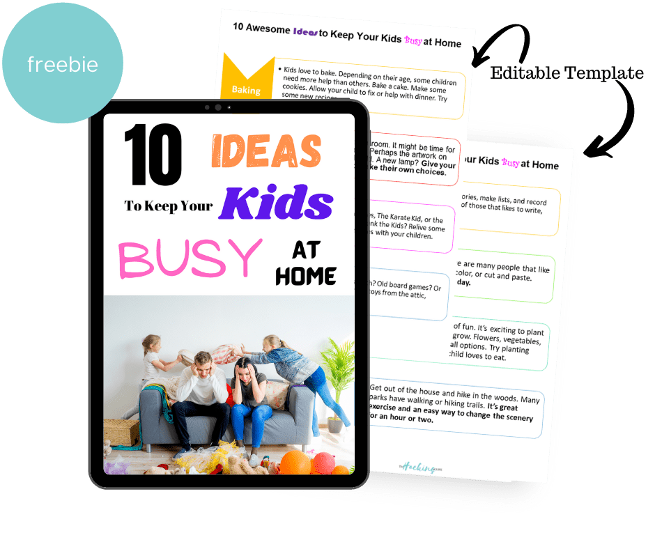 10 Awesome Ideas to Keep your kids busy at home