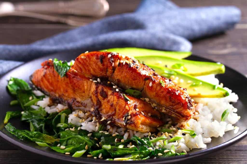 5-Ingredient Miso Glazed Salmon by Allwaysdelicious.com